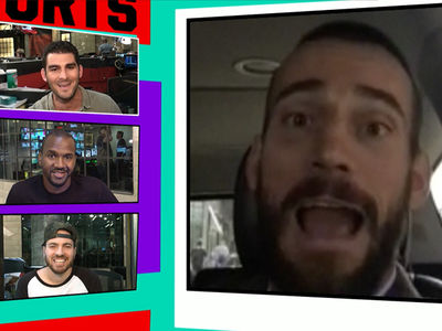 CM Punk -- UFC Fighters Have My Back ... 'Awesome People Have Reached Out' (VIDEO)