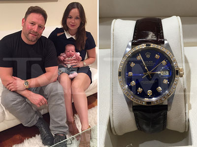 Ray J & Too Short -- Go in On $15k Rolex for an Infant! (PHOTOS)