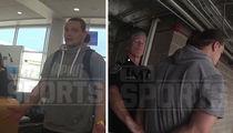 WWE's Bo Dallas -- Video Of Drunken Airport Arrest ... Are Those Nunchucks? (VIDEO)