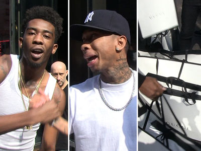 Desiigner & Tyga -- Droppin' Huge Stacks At Gucci Is The Best Cure For Jail Hangover (VIDEO)