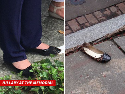 Hillary Clinton -- The Shoe Doesn't Fit ... But Serious Questions Linger