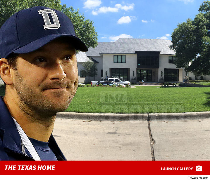 tony romo s building insanely expensive mansion in dallas tmz com rh tmz com tony romo glen abbey home tony romo home page