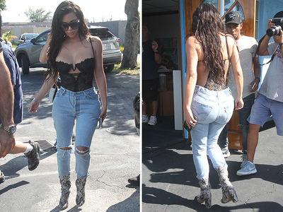 Kim Kardashian -- Miss Palindrome (PHOTOS)