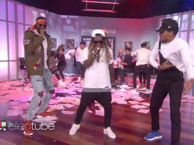 Lil Wayne -- Clowns Ryan Lochte In Rap Verse (VIDEO)