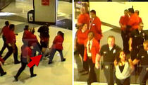 Kelly Clarkson Fan -- Racist Cops and Security Beat Me Down (VIDEO + PHOTO GALLERY)