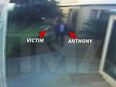 Anthony Michael Hall -- Allegedly Attacks Neighbor ... Caught on Video