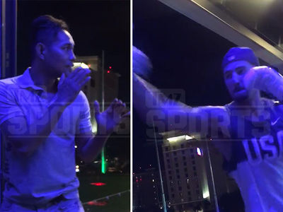 Klay Thompson -- Training To Box With Champ Nonito Donaire (VIDEOS)