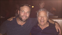 Wes Welker -- Reunites with Bob Kraft ... Over Martinis (PHOTO)