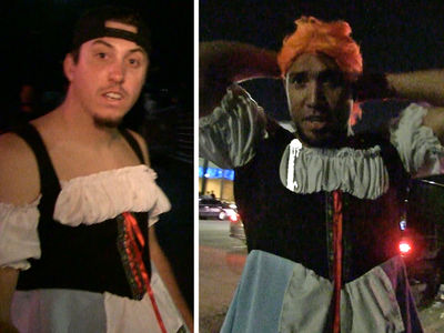 S.F. Giants Rookies -- Cross-Dressing Hazing ... Hit the Club Dressed as Girls (VIDEO)