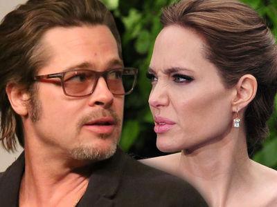 Brad Pitt -- Get Ready, Angelina ... I'm Fighting For Joint Custody