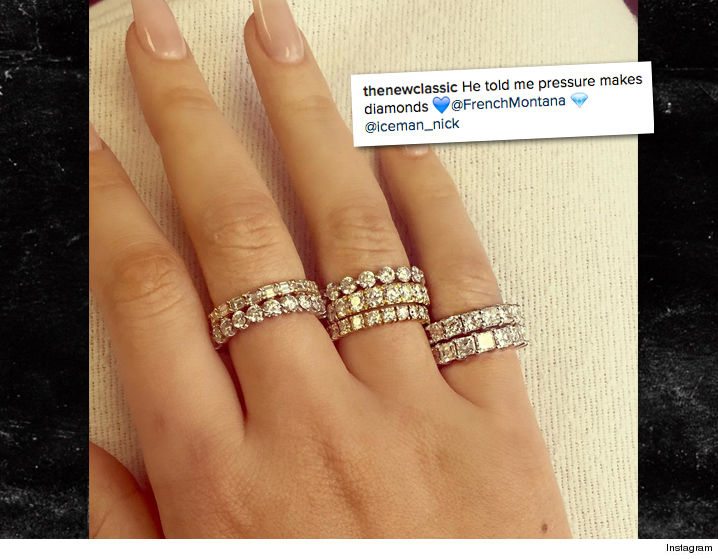 Iggy Azalea Gifted 7 Diamond Rings by French Montana