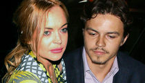 Lindsay Lohan -- Egor Hit Me and He's Broke!