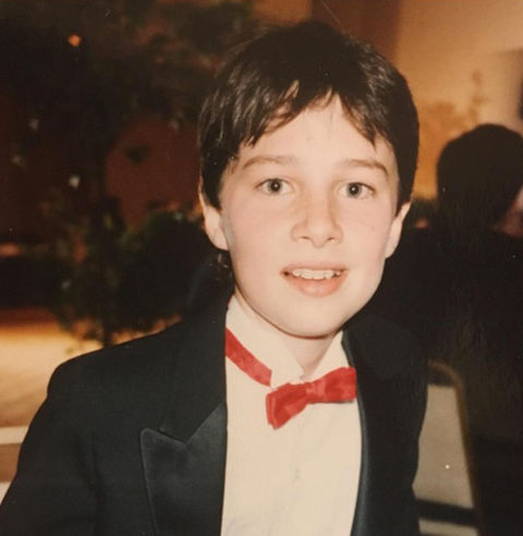Before this bow tie wearing boy was wearing well-tailored tuxedos as a Hollywood actor, he was just another suited stud growing up in South Orange, New Jersey.