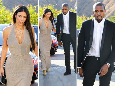 Kim & Kanye -- Looking Good Is Just What We Do (PHOTO GALLERY)