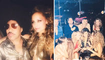 Nicole Richie -- Boogies Down For 35th Birthday Disco Bash (PHOTO GALLERY)