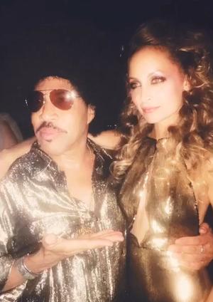 Nicole Richie's 35th Birthday -- Disco Fever