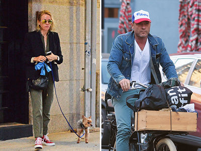 Naomi Watts & Liev Schreiber -- It's a Big City ... Great for Separate Lives (PHOTOS)