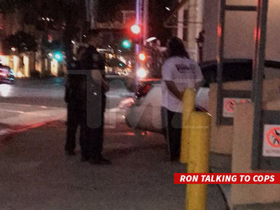 Ron Jeremy -- Hits Pedestrian, Cops Investigate (PHOTO)
