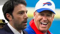 Ben Affleck -- Patriots Lost to Rex Ryan??? ... 'F***' (VIDEO)