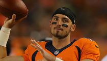 Broncos' Paxton Lynch -- 100 Friends, Family In Attendance ... For NFL Debut