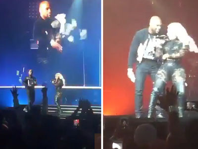 Floyd Mayweather -- Throws $9,000 In Cash ... During Lil' Kim Concert (VIDEO + PHOTO)