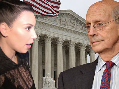 Kim Kardashian Robbery -- Supreme Court Justice Throws Major Shade