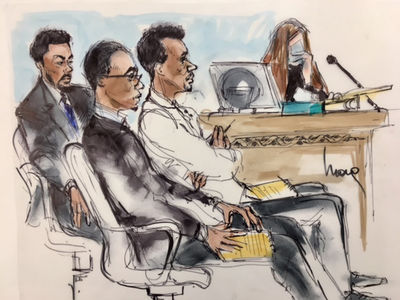 Derrick Rose -- The Dramatic Courtroom Sketches (PHOTOS)