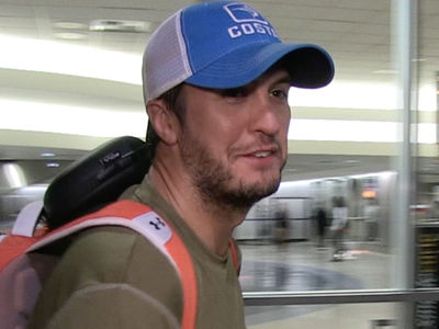 Luke Bryan -- I Broke My Clavicle ... But I'll Still Sing for You