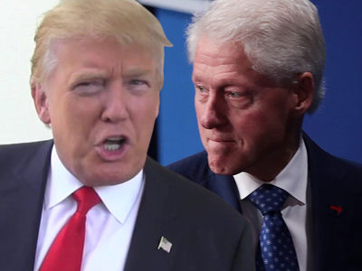 Donald Trump -- Trash Talked Women with Bill Clinton During Golf Games