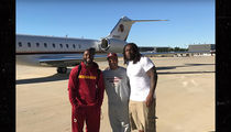 NFL's Pierre Garcon -- Delivering Medical Supplies To Haiti ... On Redskins Owners' Jet
