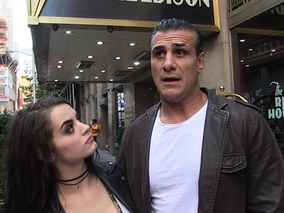 Alberto Del Rio & Paige -- Knife Attacker Was Drunk Idiot ... Who Dissed My Girl (VIDEOS)