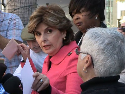 Donald Trump -- Gloria Allred Demands MGM Release 'Apprentice' Tapes (VIDEO)