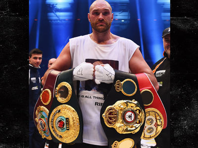 Tyson Fury -- Vacates Titles After Cocaine Drama ... 'Focusing On Treatment, Recovery'