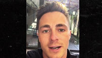 Colton Haynes -- Hollywood Hills Home Ransacked By Thieves (VIDEO)