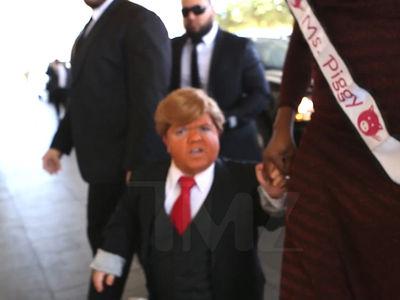 Beacher's Madhouse -- Mini Trump Storms Trump International in Vegas (VIDEO)
