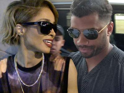 Ciara & Russell Wilson -- WE'RE  PREGGO!!