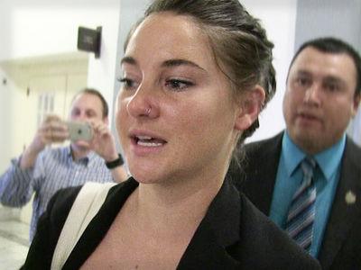Shailene Woodley -- Pleads Not Guilty in Pipeline Riot