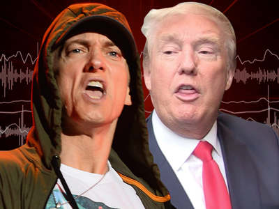 Eminem -- 'Loose Cannon' Trump Can't Be Prez! (AUDIO)