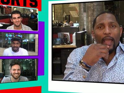 Ray Lewis -- The Rock and I Smelled Greatness ... As College Teammates (VIDEO)
