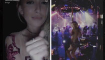 Paulina Gretzky -- Workin' Dat Pole ... Hot Nightclub Dance Party (VIDEO)