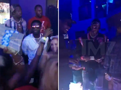 Gucci Mane & 2 Chainz -- Throwing Stacks All Over ATL Strip Club (VIDEO)