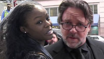 Russell Crowe & Azealia Banks -- Cops Hit Wall with Surveillance Video