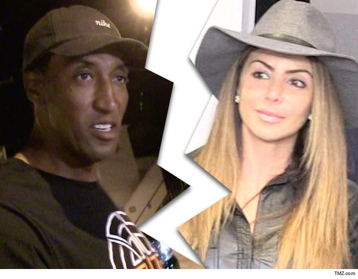 5749af281bd Scottie Pippen Files for Divorce From  Real Housewives  Star
