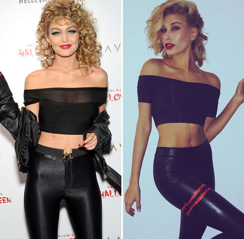 Who's the one that you want? Gigi Hadid (21) vs. Hailey Baldwin (19)