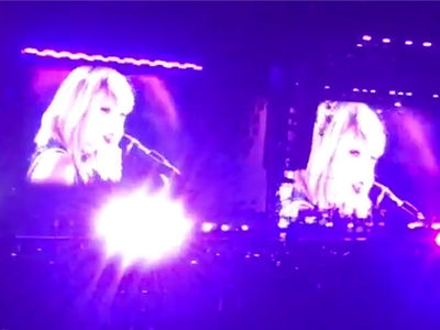 Taylor Swift -- Owns 'This is What You Came For' During Concert (VIDEO)
