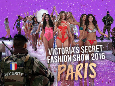 Victoria's Secret Fashion Show -- Terrorism Fears Kept Secret Secret