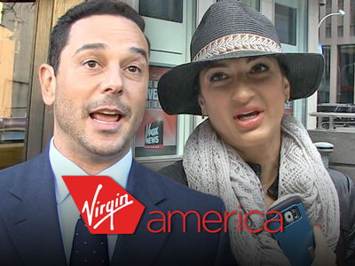 'RHONJ' Star Couple -- Sues Virgin America ... Your Flight Attendant Lied About Our 'Fight'