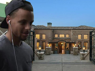 Steph Curry -- Lists Baller Mansion ... $3.7 Million! (PHOTO)
