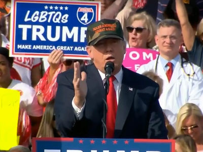 Donald Trump -- Rally Doctor's Patriotic Cry ... Love It Or Leave It (VIDEO)