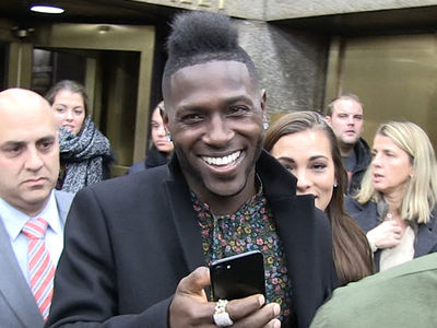 NFL's Antonio Brown -- Remembers Brandon Marshall Bet ... Seems Confident (VIDEO)